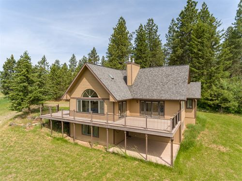 North Idaho Country Home Acreage : Worley : Kootenai County : Idaho