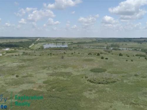 Western Oklahoma Hunting Land : Reydon : Roger Mills County : Oklahoma