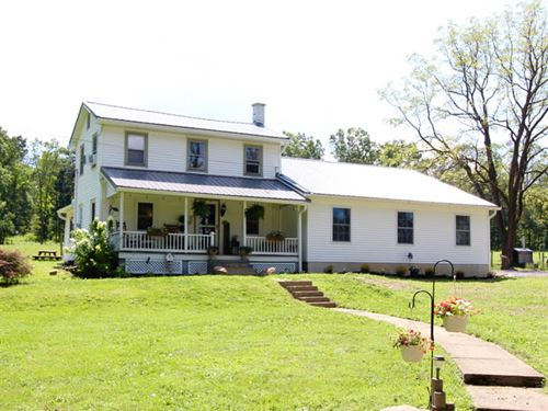 74 Acres, Farm House With Modern : Danville : Montour County : Pennsylvania