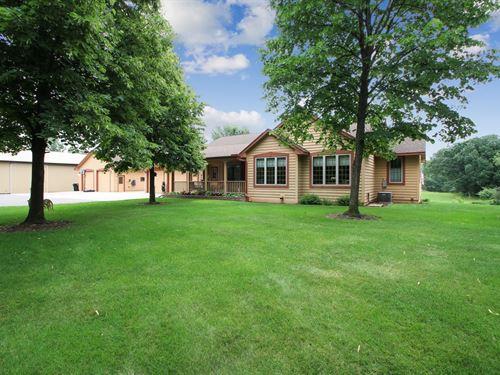 Princeton Country Home For Sale : Princeton : Sherburne County : Minnesota