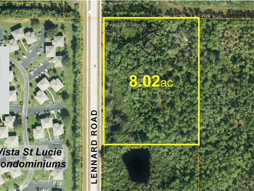 Rustic Residential Estate Site : Port St Lucie : Saint Lucie County : Florida