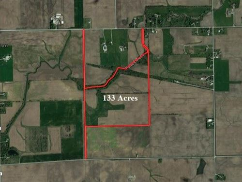 133 Ac Wilton Center Farm : Manhattan : Will County : Illinois