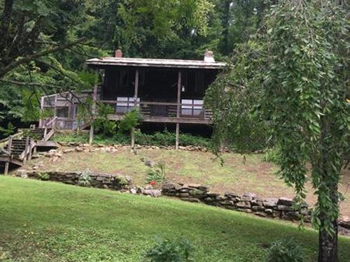Remote Country Cabin : Rogersville : Hawkins County : Tennessee