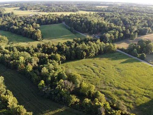 100 Acres Franklin County, Land : Buena Vista : Franklin County : Indiana