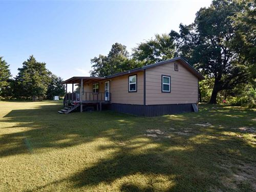 2 Bed 1 Bath Country Home on Woode : Antlers : Pushmataha County : Oklahoma