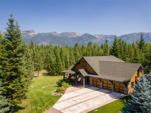 Old Paint Trail : Bigfork : Flathead County : Montana