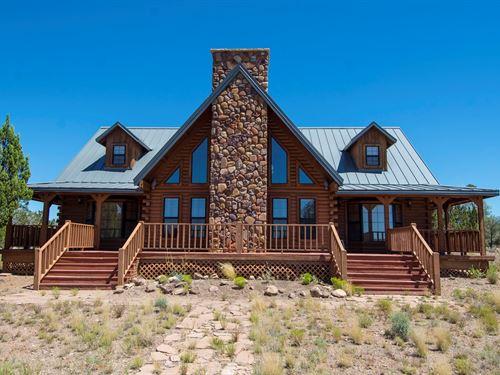 Off Grid Home Private Well Large : Seligman : Yavapai County : Arizona