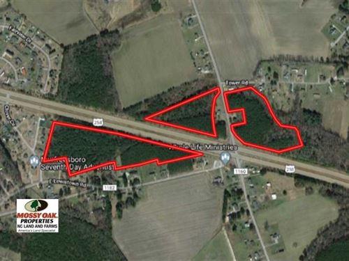 28.84 Acres of Timber And Hunting : Murfreesboro : Hertford County : North Carolina