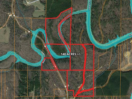 140 Acres Recreational/Hunting : Double Springs : Winston County : Alabama