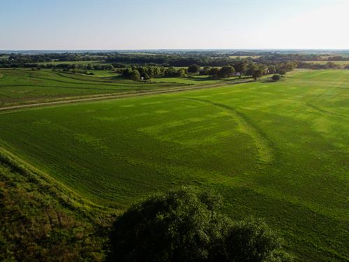 114 Acres Of Beautiful Pasture : Osage City : Osage County : Kansas