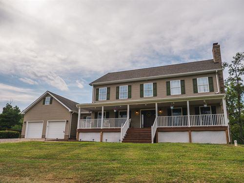Breathtaking Country Home Riner VA : Pilot : Montgomery County : Virginia