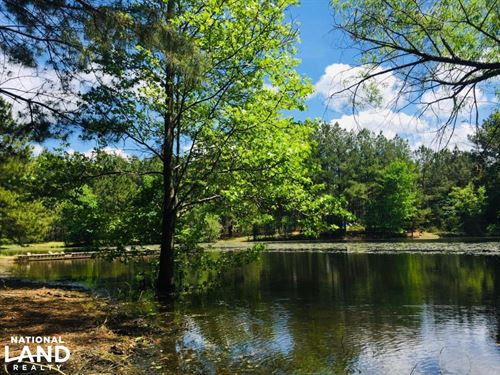 Winnsboro Homesite With Pond And Ti : Winnsboro : Fairfield County : South Carolina