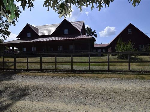 Custom Log Cabin In Heart of : Watson : McCurtain County : Oklahoma