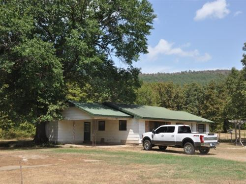 Oklahoma Farm 4 Bedroom Country : Heavener : Le Flore County : Oklahoma