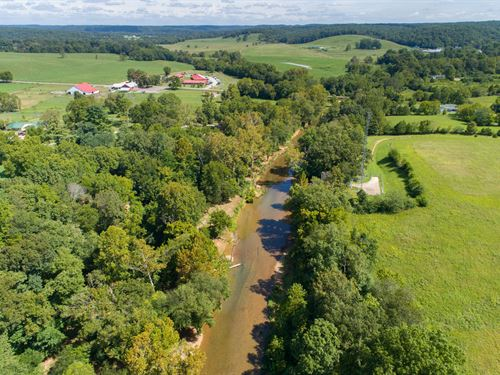 The Homestead On Piney River, 9.43 : Nunnelly : Hickman County : Tennessee