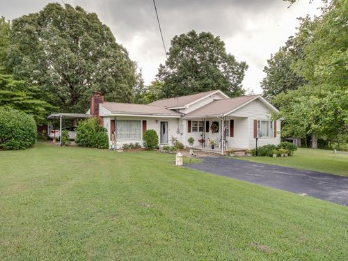 4 Bedroom, Country Home Acreage : Hohenwald : Lewis County : Tennessee