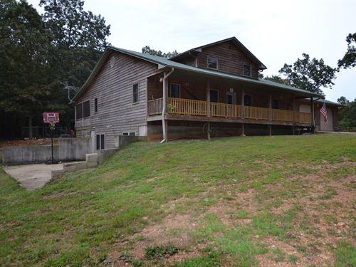 Southern Missouri Hobby Farm & Home : West Plains : Howell County : Missouri