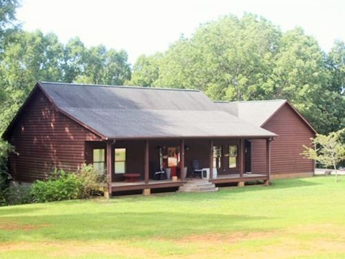 Country Charmer With River Access : Milledgeville : Baldwin County : Georgia