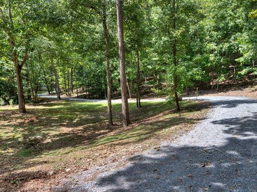 13.3 Wooded Acres With Cabin Style : Lindale : Floyd County : Georgia