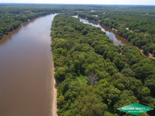 62 Ac, Ouachita River Tract Near : West Monroe : Ouachita Parish : Louisiana