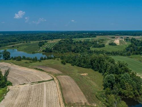 Over 600 Acres Farm Land Kerr Lake : Baskerville : Mecklenburg County : Virginia