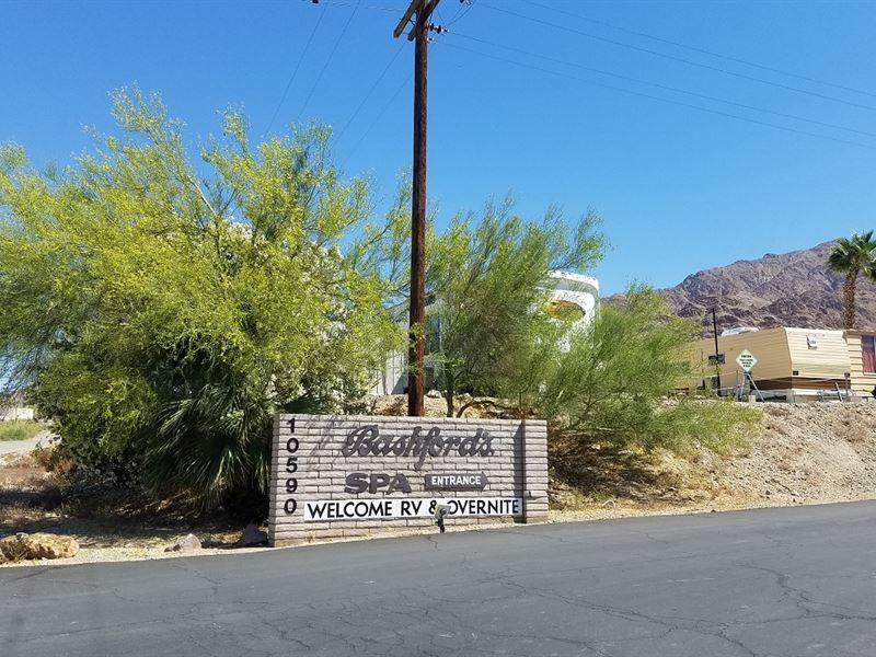 Nice, Mineral Spa Area, $285/Mo : Niland : Imperial County : California