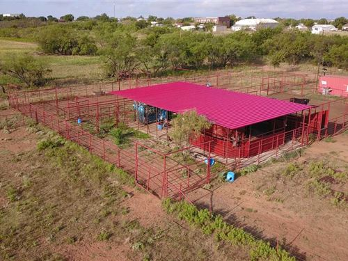 74+ Acres With Automated Holding : Megargel : Archer County : Texas