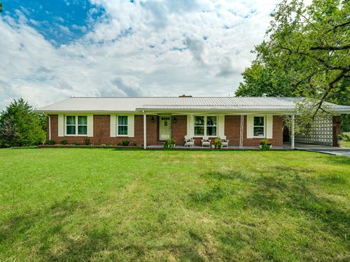29+ Ac, 2 Lovely Homes, Pasture : Hilham : Overton County : Tennessee