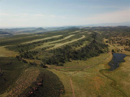 Double Rocker Ranch : Granite : Laramie County : Wyoming