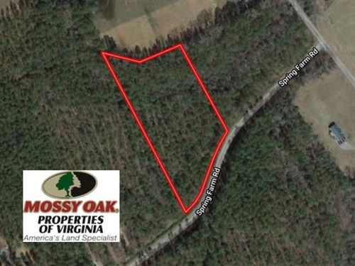 5 Acres of Hunting And Residential : Dendron : Surry County : Virginia