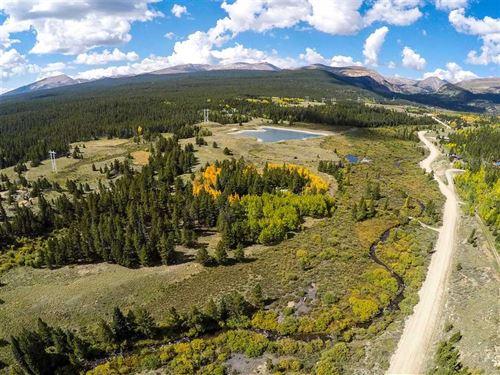 56 Acres, 2 Deeded Lots, 3/4 + Mil : Alma : Park County : Colorado