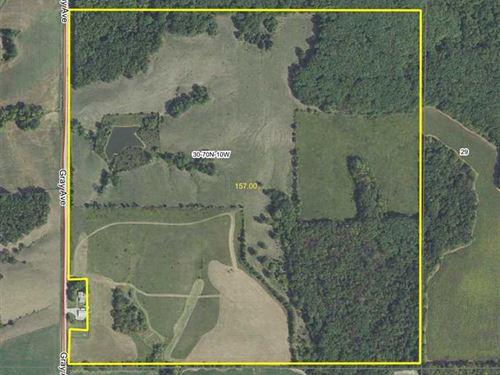 Van Buren County, Iowa 157 Acres : Douds : Van Buren County : Iowa