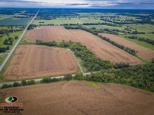 72 Acre Tillable Farm For Sale : Dennis : Labette County : Kansas