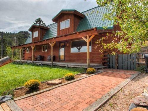 Colorado Mountain Home Bordering : Red Feather Lakes : Larimer County : Colorado