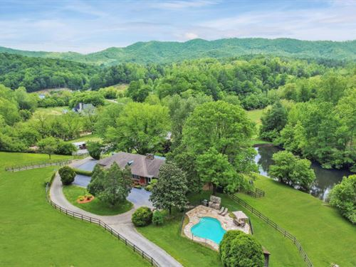 Lovely Horse Farm Close To Roanoke : Boones Mill : Roanoke County : Virginia