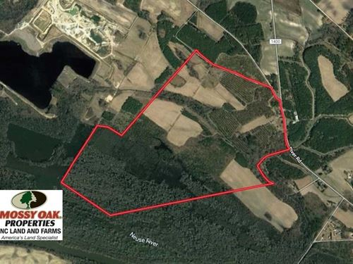 389 Acres of Farm And Timber Land : Grifton : Craven County : North Carolina