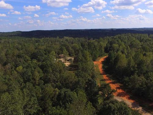 244 Acres + Cabin + Mobile Home : York : South Carolina