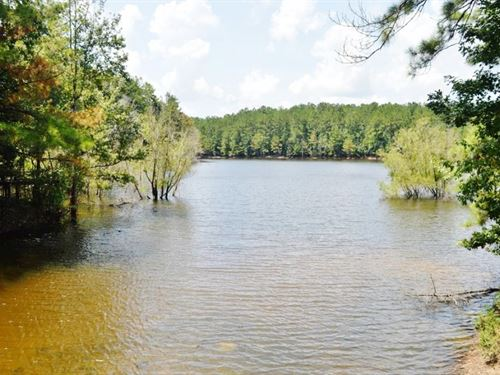 Lake Front Home Hunting Property Fo : Poplarville : Pearl River County : Mississippi