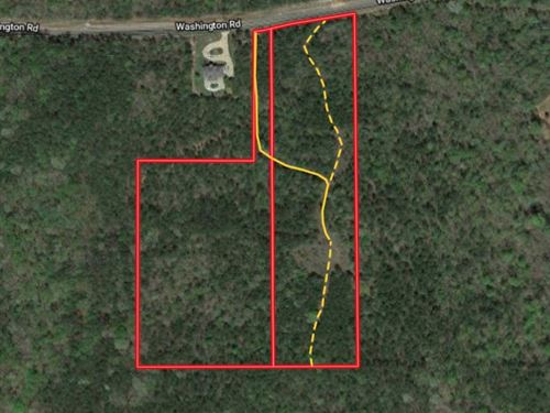 20 Acres Close To Columbus : Hamilton : Harris County : Georgia