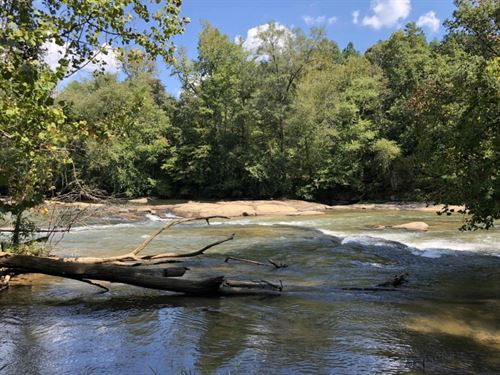 12 Acres Of Waterfront Property : Easley : Pickens County : South Carolina