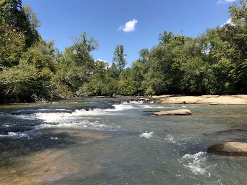 6.26 Acres Waterfront Property : Easley : Pickens County : South Carolina