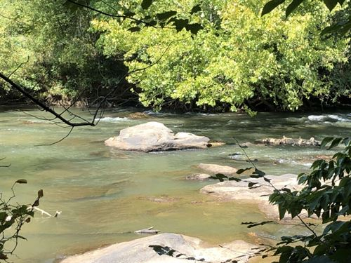 6 Acres Of Waterfront Property : Easley : Pickens County : South Carolina