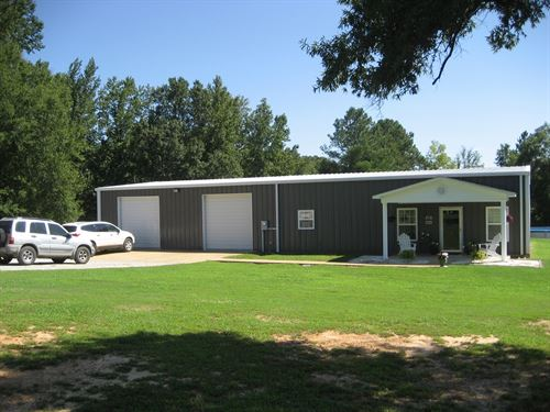 Country Home TN Acreage, Shop, Barn : Ramer : McNairy County : Tennessee