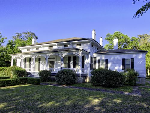 Hawkinsville Plantation Circa 1840 : Eufaula : Barbour County : Alabama