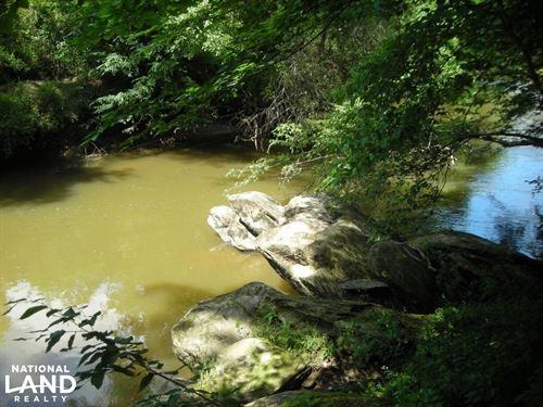 86 AC Along Tallapoose River : Tallapoosa : Haralson County : Georgia