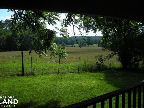64 AC Farm With Cabin Home : Tallapoosa : Haralson County : Georgia