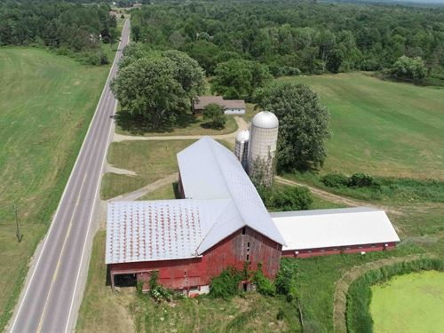 Farmhouse & Acreage, Lot B : Richaldn : Oswego County : New York