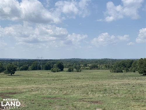 Rural Homesite Pasture & Hay Meadow : Morris : Okmulgee County : Oklahoma