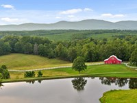 Beautiful Farm With Lake And Views : Cedar Bluff : Cherokee County : Alabama