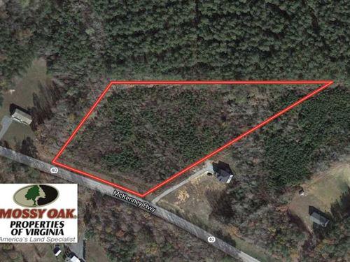 5 Acres of Residential OR Hunting : McKenney : Dinwiddie County : Virginia